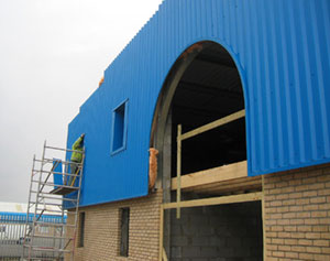 Steel Cladding